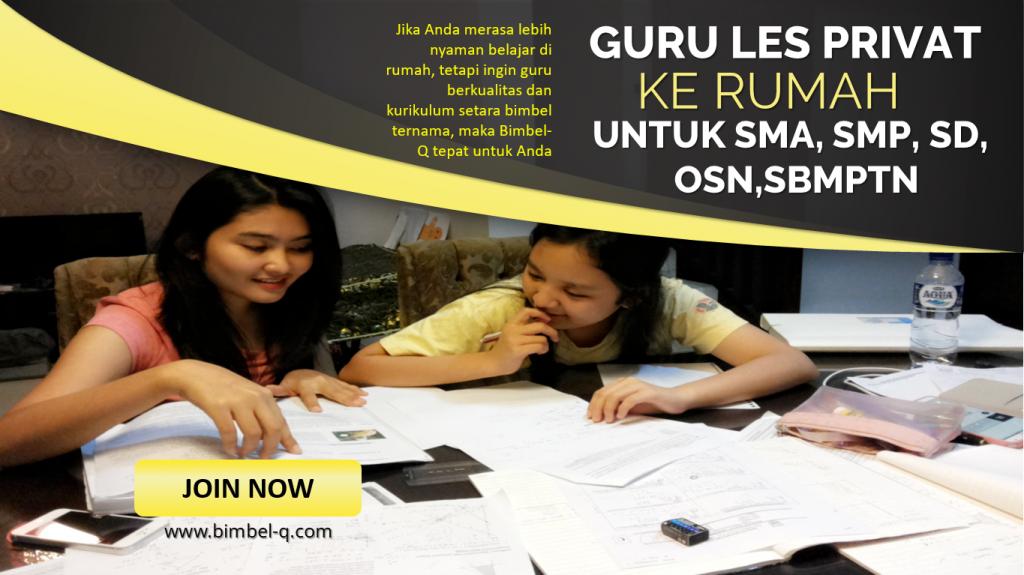 GURU LES PRIVAT DI Cililitan Jakarta Timur UNTUK SMP