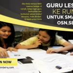 GURU LES PRIVAT DI Utan Kayu Utara Jakarta Timur : INFO BIMBEL PRIVAT SMA