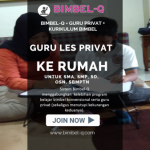 GURU LES PRIVAT DI Gedong Jakarta Timur : INFO BIMBEL PRIVAT SMA