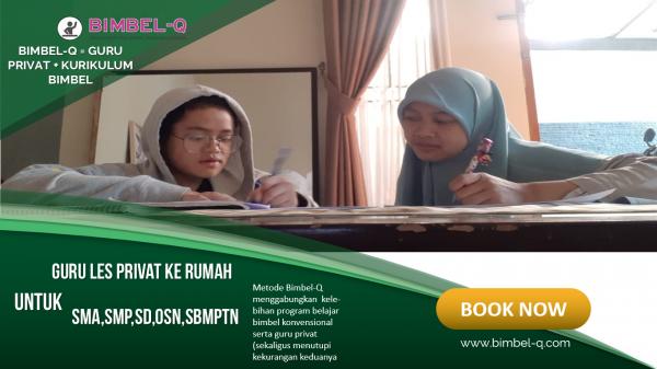 GURU LES PRIVAT DI Pisangan Timur Jakarta Timur UNTUK SMP